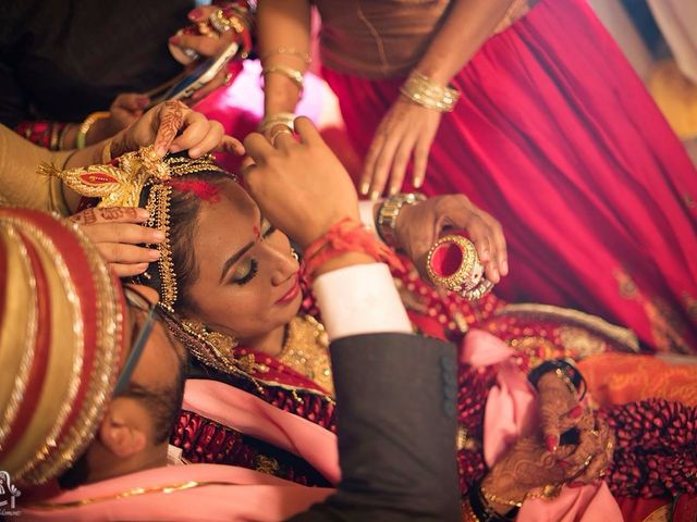 The wedding of Ruchika and Shikhar