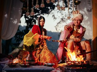 The wedding of Pashyanti and Sahil