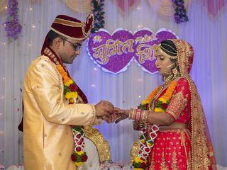 The wedding of Shikha and Sumit