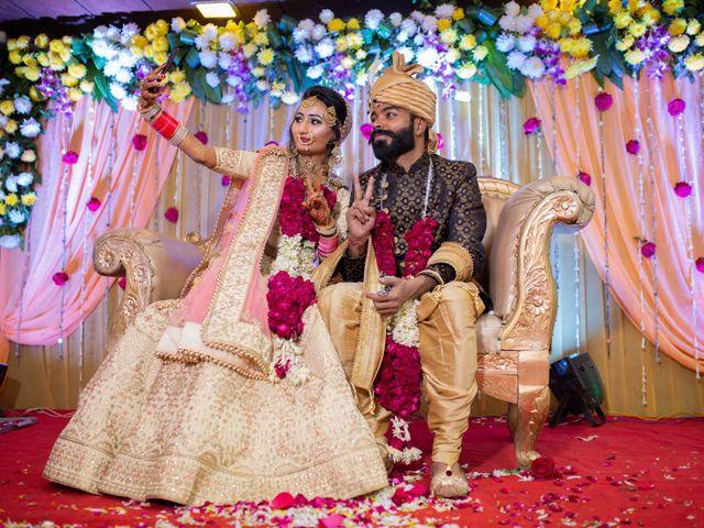 The wedding of Akanksha and Ashutosh