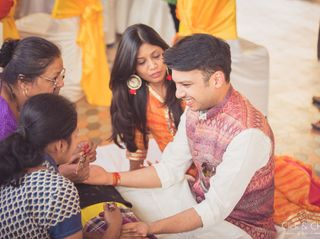 The wedding of Aanchal and Govind 1