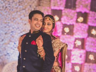 The wedding of Aanchal and Govind