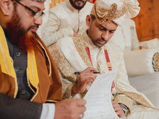 The wedding of Aasiya and Raiyan 1