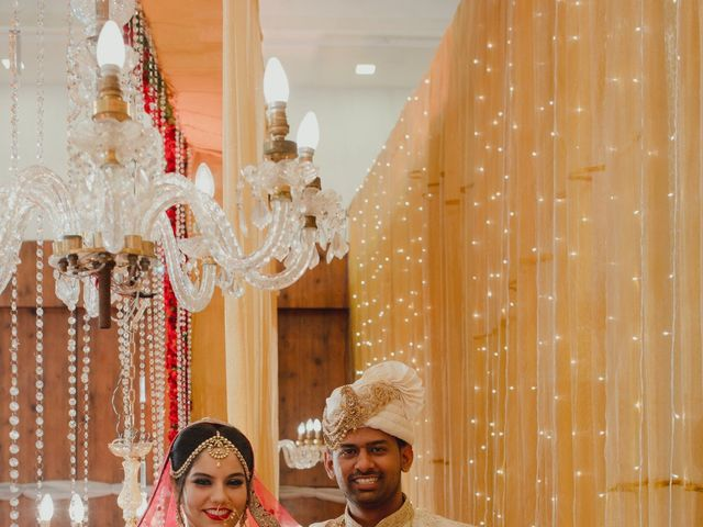 The wedding of Aasiya and Raiyan