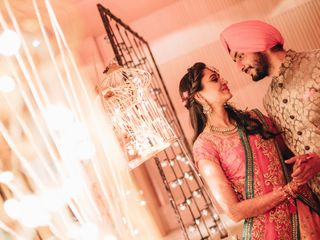 The wedding of Dilpreet and Janeet