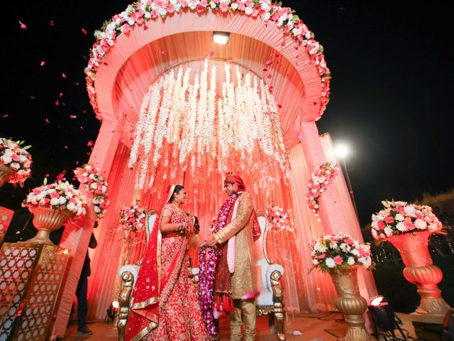 The wedding of Neha and Abhishek