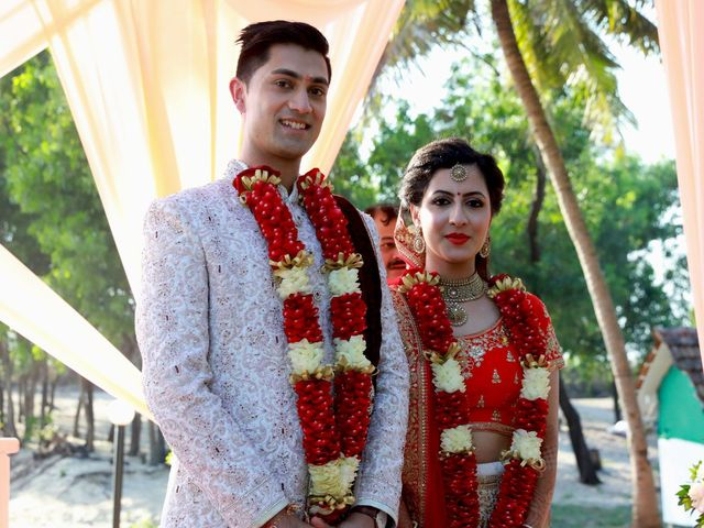 The wedding of Bhaveen and Nisha