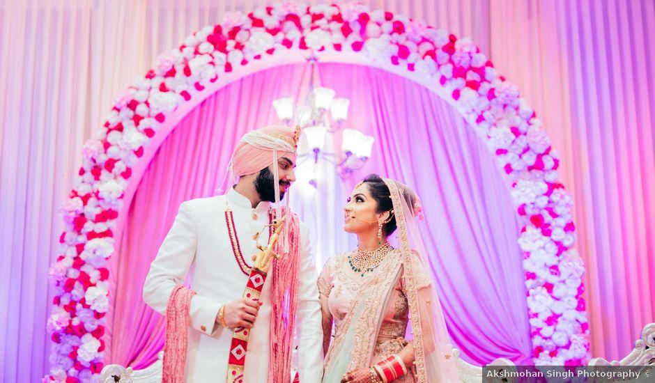 Maneet and Karanpreet's wedding in North Delhi, Delhi NCR