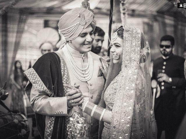 The wedding of Annie and Karan