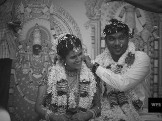The wedding of Chandru and Manjula