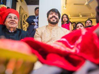 The wedding of Akanksha and Anmol 1