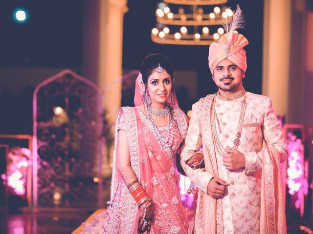 The wedding of Yashu and Nitish