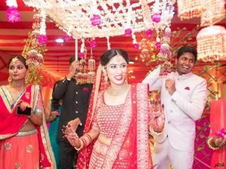 The wedding of Soumya and Ayush 1