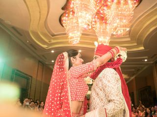Ayush and Soumya's wedding in Indore, Indore 8