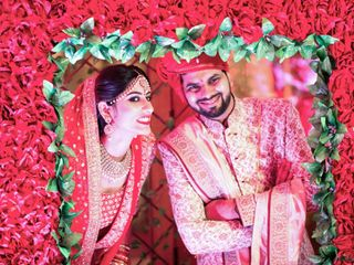 Ayush and Soumya's wedding in Indore, Indore 9