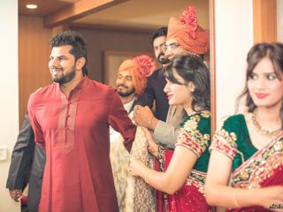 Ayush and Soumya's wedding in Indore, Indore 17