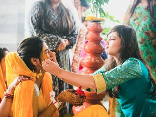 Ayush and Soumya's wedding in Indore, Indore 25