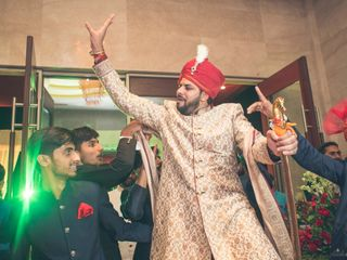 Ayush and Soumya's wedding in Indore, Indore 61