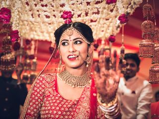 Ayush and Soumya's wedding in Indore, Indore 63