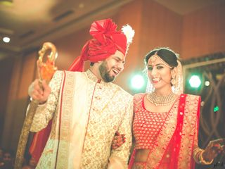 Ayush and Soumya's wedding in Indore, Indore 68