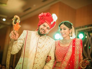 Ayush and Soumya's wedding in Indore, Indore 69