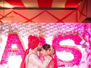 Ayush and Soumya's wedding in Indore, Indore 79