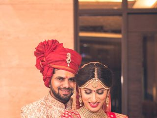 Ayush and Soumya's wedding in Indore, Indore 83