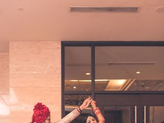 Ayush and Soumya's wedding in Indore, Indore 84