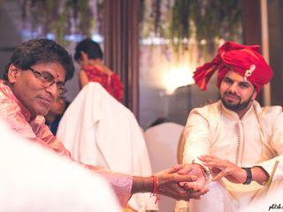 Ayush and Soumya's wedding in Indore, Indore 87