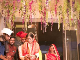 Ayush and Soumya's wedding in Indore, Indore 92