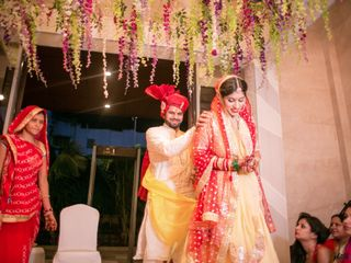 Ayush and Soumya's wedding in Indore, Indore 93