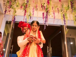 Ayush and Soumya's wedding in Indore, Indore 95