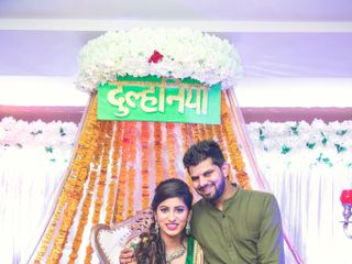 Ayush and Soumya's wedding in Indore, Indore 108