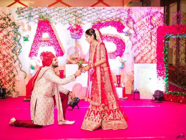 The wedding of Soumya and Ayush