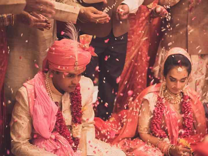 The wedding of Kaushiki and Kushal