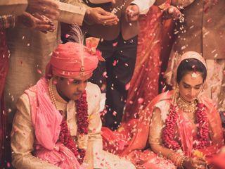 The wedding of Kaushiki and Kushal 1