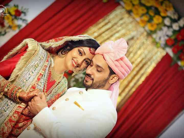 The wedding of Shaishtha and Akbar