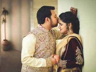 The wedding of Alka and Aashish