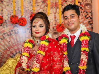 The wedding of Garima and Manoj