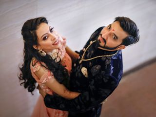 The wedding of Jigar and Manali