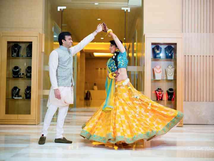 The wedding of Karishhma and Amit
