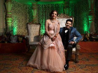 The wedding of Kinjal and Monish