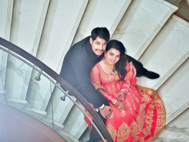 The wedding of Manju and Prayag