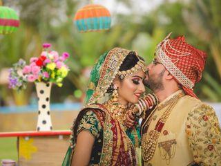 The wedding of Komal and Nishant