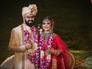 The wedding of Pranjuli and Tarun