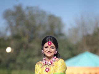 The wedding of Raghvi and Nakul 1