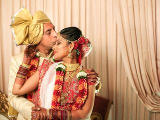 The wedding of Pooja and Haresh