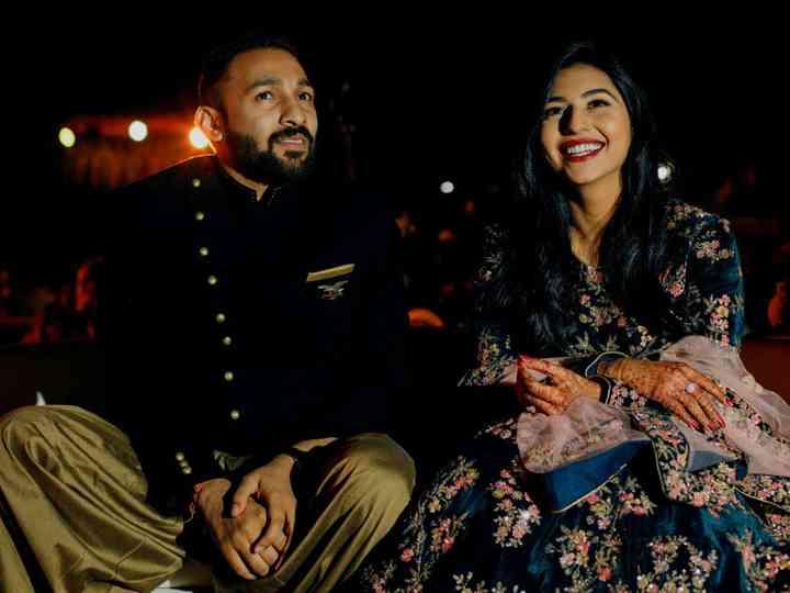 The wedding of Khushbhoo and Kavish