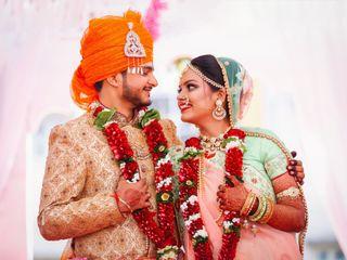 The wedding of Pooja and Rinkesh