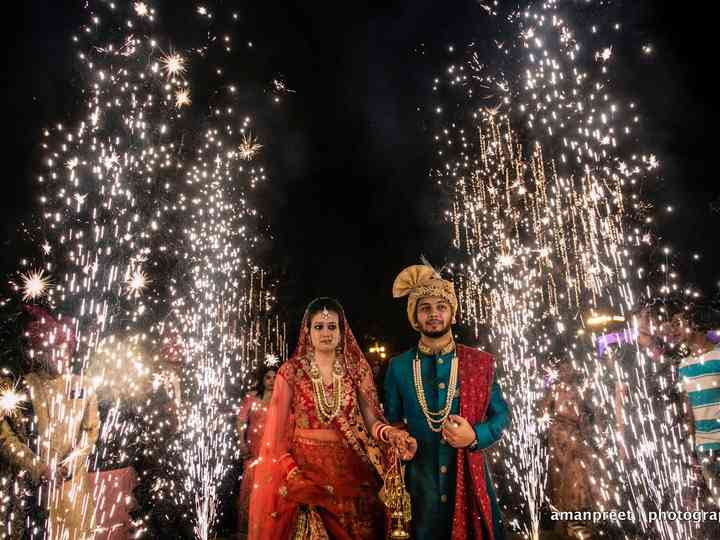 The wedding of Avni and Kartik